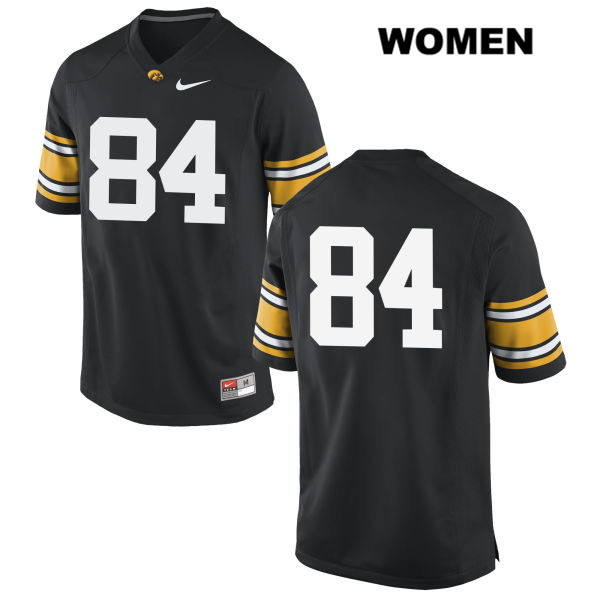 Authentic Nike Iowa Hawkeyes no. 84 Stitched Nick Easley Black Womens College Football Jersey - No Name